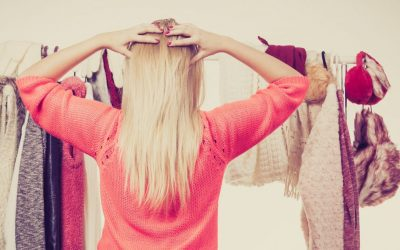 Let go of clothes that don't serve you any more