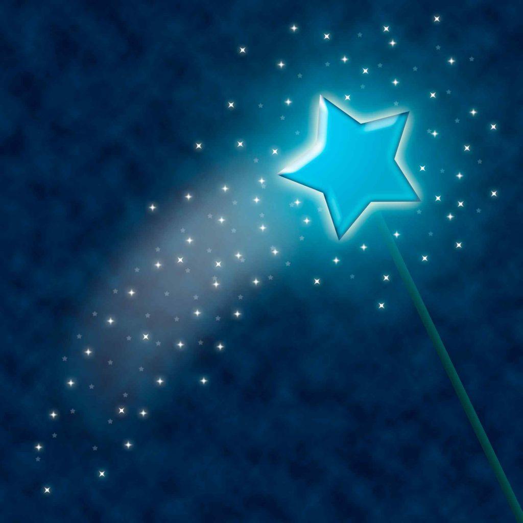 image of a magic wand